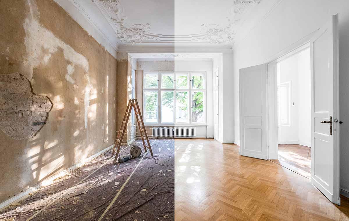 Vor dem Hausverkauf renovieren?